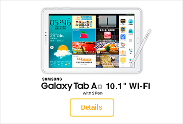 "Samsung Galaxy Tab A6 10.1"" Wi-Fi with S Pen